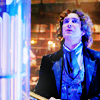 Eight in the TARDIS