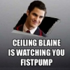 Deluded Sadie: ceiling blaine