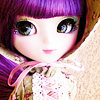 Feral Cheryl.: Purple hair doll