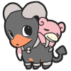 houndoom and slowpoke