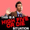 tardis_stowaway: high five or die 10