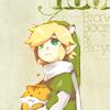 """♡ zelda -- link """"+ teddy <3"""""""