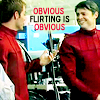 obvious flirting is obvious