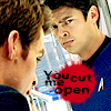 you cut me open