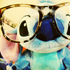 glasses, stitch