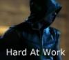 Arrow - hard at work