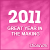 Shannon - 2011 Great Year