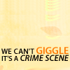 myfieldnotes: SH can't giggle at crime scenes