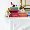 stock; bookshelf