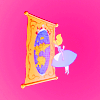 disney ϟ  wonderland pink