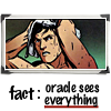 Oracle sees everything