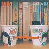 книги-стаканчики