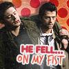 Dean/Cas: He Fell...