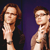 Sarah :): SPN--Jensen and Jared are GLORIOUS.