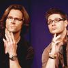 Sarah :): SPN--Jensen and Jared are GLORIOUS.