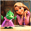 Savannah: Rapunzel making cosplay