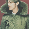 Bowie: Winter Coat omgz yes.