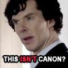Sherlock - this isn't canon?