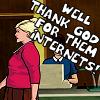 SECRET TUNNEL, SECRET TUNNEL: [Archer]Thank god for the internets