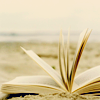 book on sand