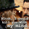 Kill you with my mind