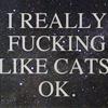 [cats] FUCK YEAH CATS
