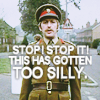 too silly, monty python