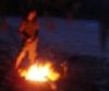 Camping, Hammock, Dingo Beach, Fire