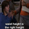 the right height