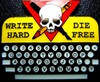 write hard die free