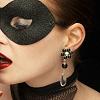 03 - black mask & red lips