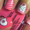 Jessica K Malfoy: pretty: pink nails