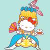Hello Kitty - rococo