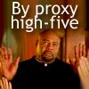 gregor_asmadi: pushing daisies - high five