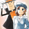 [Phoenix Wright] Professor Hat and Trucy