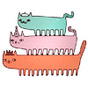 коты-сороконожки