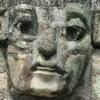 copán ruinas stone face