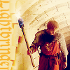 Arthur with torch