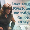 semi-titled: laura roslin demands an explanation