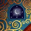 kells - moon in window
