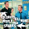 Topetine: h50: sharks vs coconuts