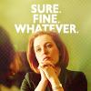 elliotsmelliot: X Files Scully