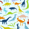 Animals ☆ dinosaur pattern.