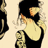 cleodoxa: lady in black