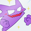 Against the assault of laughter nothing can stand.: Haunter_GleeSparkle