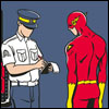 Flash Speeding Ticket by Copperbadge