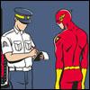 Flash Speeding Ticket by Copperbadge