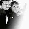 Sherlock/John & Moriarty B&W