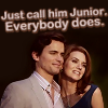"White Collar ""Neal and Sarah"""