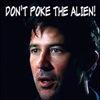 don't poke the alien